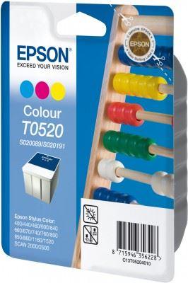 EPSON cartridge T0520 color