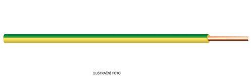 KV H05V-U  1 TMAVĚMODRÁ (CY.)