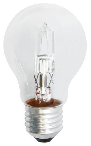 Halogenová žárovka ECO A60 70W E27 teplá bílá, stmívatelná, 1528077000