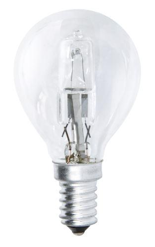 Halogenová žárovka ECO Mini Globe 18W E14 teplá bílá, stmív., ZE1011
