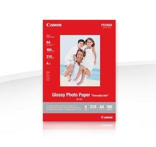 Canon fotopapír GP-501 - 10x15cm (4x6inch) - 100 listů - lesklý