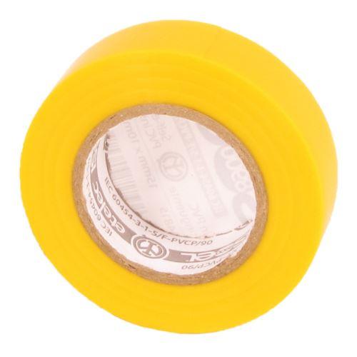 ELEM PÁSKA PVC IZOLAČNÍ ŽLUTÁ 15MMx10Mx0,15MM 1099055