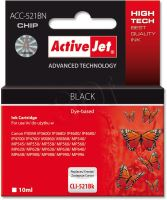 ActiveJet Ink cartridge Canon CLI-521Black (WITH CHIP)     ACC-521Bk EXPACJACA0080