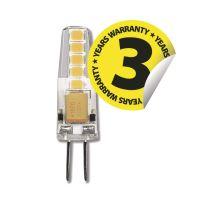 LED žárovka Classic JC A++ 12V 2W G4 teplá bílá, 1525735201