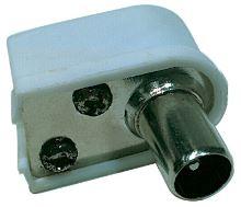 Konektor IEC vidlice zacvakávací úhlový, K1421