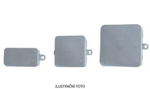 SCA KRABICE A4 INSTAL NA OMÍTKU SCABOMET IP54 100X100X40MM