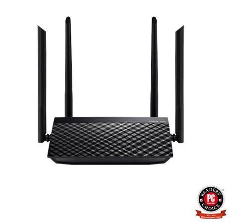 ASUS RT-AC1200 v.2, AC1200 Dvoupásmový Wi-Fi Router se čtyřmi anténami a rodičovskou kontr