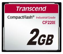 Transcend 2GB INDUSTRIAL TEMP CF220I CF CARD (SLC) Fixed disk and UDMA5 TS2GCF220I