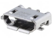 Zásuvka USB B micro, PCB, 5 pin 1981568-1