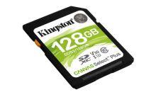 KINGSTON 128GB SDHC CANVAS Plus Class10 UHS-I 100MB/s Read Flash Card SDS2/128GB