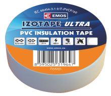 Izolační páska PVC 19mm / 20m bílá, 2001192010
