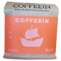 KÁVA  COFFEEIN ELITE - SMĚS  - 200G 90% ARABICA, 10 % ROBUSTA BRAVO