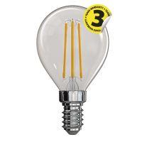LED žárovka Filament Mini Globe A++ 4W E14 neutrální bílá, 1525281211