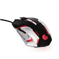 Myš GEMBIRD MUSG-07, herní, optická, programovatelná, 3200DPI, USB MYS0532G8