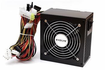 EVOLVEO Zdroj 450W Pulse, ATX 2.2, tichý, 12cm fan, pas. PFC, 2xSATA, PCIe 6, černý, bulk