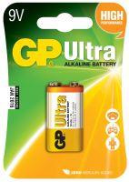 Alkalická baterie GP Ultra 9V (6LF22), 1014511000