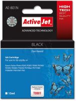 ActiveJet Ink cartridge Eps T0801 R265/R360/RX560 Black - 15 ml     AE-801 EXPACJAEP0108
