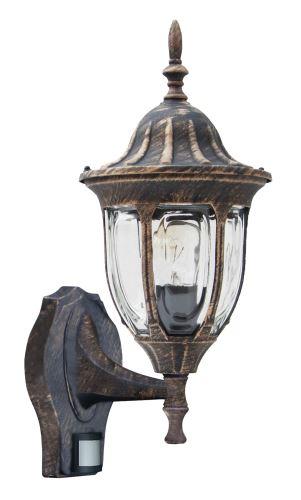 Rabalux 8370 Milano, outdoor 1 arm nástěnná lampa, with motion sensor