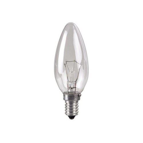 Žárovka otřesu vzdorná E14 25W svíčka
