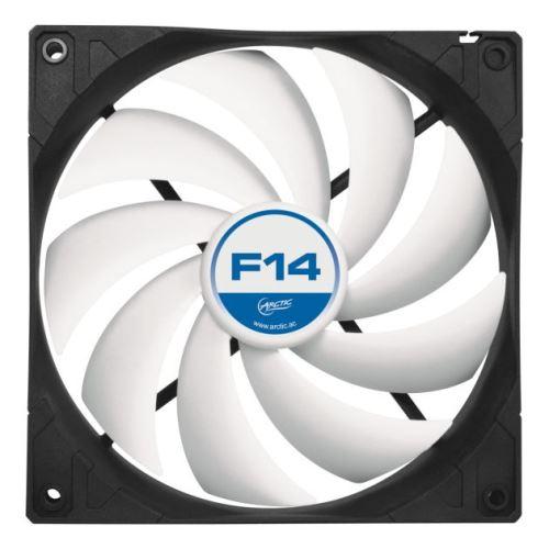 ARCTIC F14 ventilátor, 140 x 140 x 27 mm, low noise, 3pin, 12V