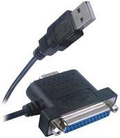 PremiumCord USB - 1x RS 232 + 1x LPT převodník ku2-232c