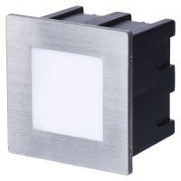 LED orientační vestavné svítidlo 80×80 1,5W neutr. bílá,IP65, 1545000110
