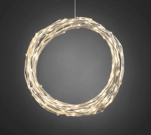 Luxusní LED girlanda, 3365-100 bílá                                                    KONST