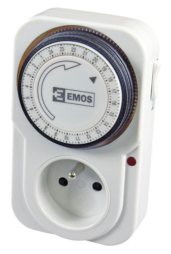 Časovač - mechanická spínací zásuvka TS-MD3, 1907010010