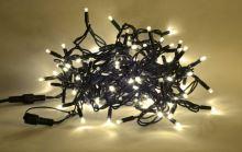 PROFI L řetěz s ocelovým lankem LED-200 PROFI L, 200 LED, teplá bílá
