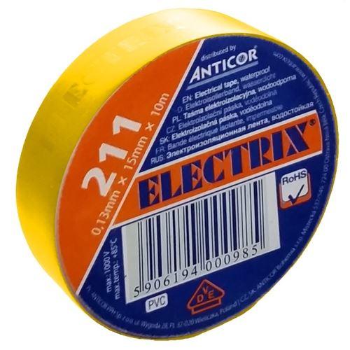 ANC PÁSKA PVC 211 ELECTRIX 15X10 ŽLUTÁ