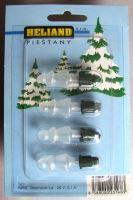Blistr 4 žárovky ASTRA stromeček bílý 20V/0,1A