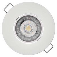 LED bodové svítidlo Exclusive bílé, kruh 5W teplá bílá, 1540115510