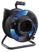 Gumový prodlužovací kabel na bubnu - spojka 50m, 1908215000