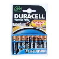 Baterie Duracell Turbo Max AAA 8ks