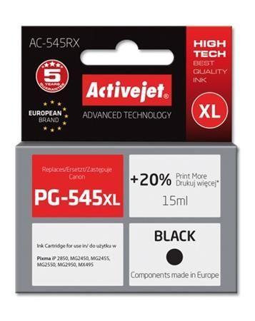 ActiveJet Ink cartridge Canon PG-545XL Prem. Bk  AC-545RX   18 ml