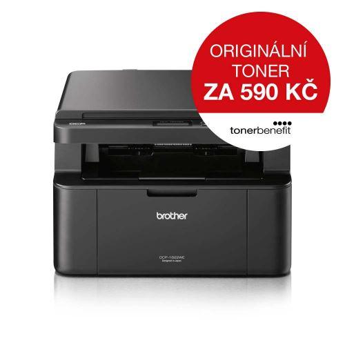 Brother DCP-1622WE TONER BENEFIT tiskárna GDI/kopírka/skener, USB, WiFi