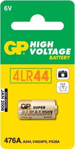 Alkalická speciální baterie GP 476AF (4LR44) 6 V, 1021047612
