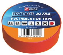Izolační páska PVC 15mm / 10m červená, 2001151030