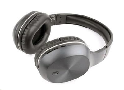 Sluchátka Gembird Miami Bluetooth, mikrofon, šedé