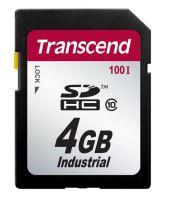 Transcend 4GB SDHC průmyslová paměťová karta (Class 10)