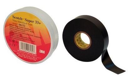 3M PÁSKA SCOTCH SUPER 33+ 38MMX33M ,-18 AŽ +105C,ODOLNOST UV