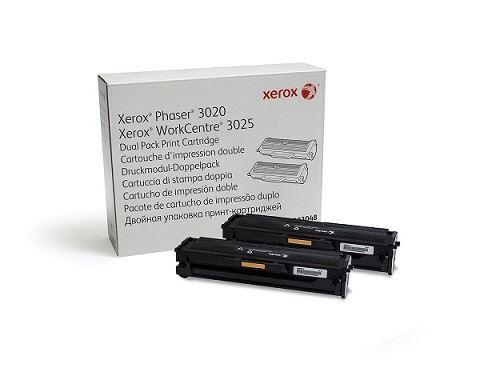Xerox Toner Black pro Phaser 3020, WorkCentre 3025 dualpack (2x 1.500 str.)