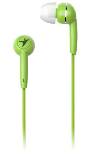 GENIUS HS-M320 /sluchátka s mikrofonem/ 3,5mm jack - 4 pin/ zelený