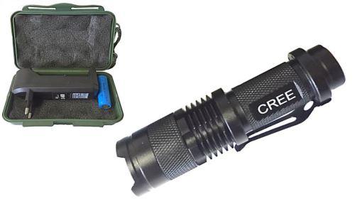 Svítilna nabíjecí LED , 3W, 180lm Konnoc S-600