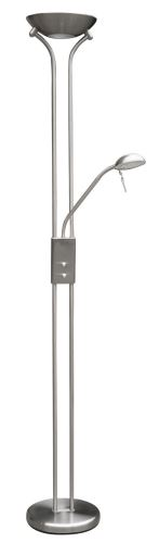 Rabalux 4075 Beta, floor lampa, with reading arm, halogen, with dimmer swith, H178cm
