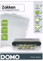 Sáčky do vakuové svářečky DOMO DO327L - velké, 28x40  cm, 50 ks, BPA free