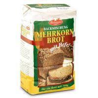 Chlebové směsi celozrnné - Vícezrnný chléb