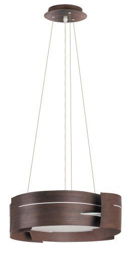 Rabalux 2215 Berbera hnědočerná, textura dřeva