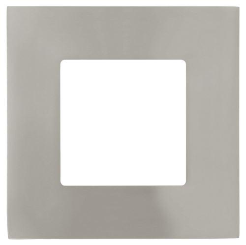 EGLO SVÍTIDLO LED 95466 FUEVA 1, 2,7W 360LM 4000K, VEST., 85X85MM, NIKL