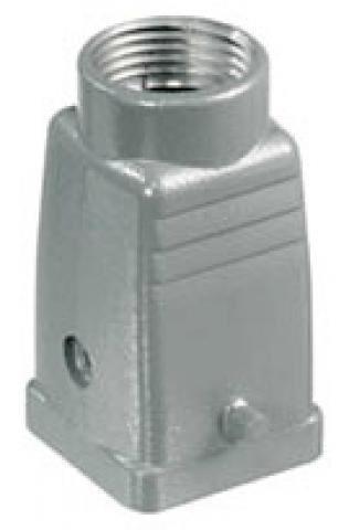 WM HDC 04A TOLU 1M20G HDC ENCLOSURES,BG:1,IP65,PLUG,LONGITUDINAL LOCKING,STANDART